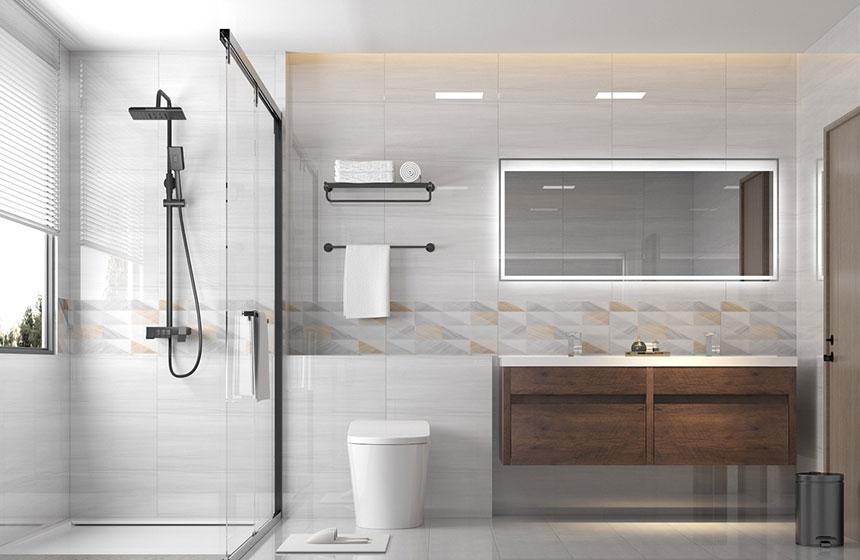 5.61㎡/#G1734102  极简卫浴空间-用细节诠释生活仪式感
