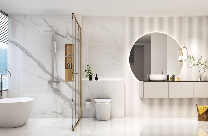 7.98㎡/ #G1942106  白色调卫浴空间