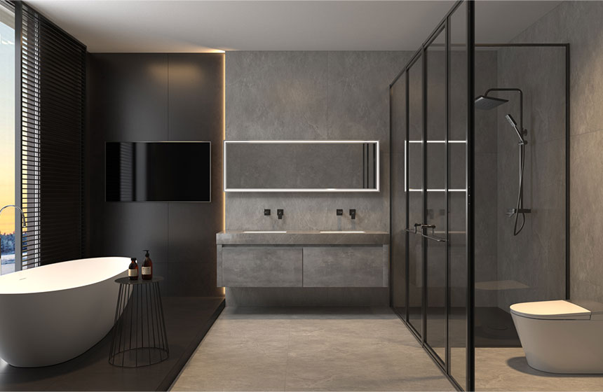 7.6㎡/#G382012  高级格调的浴室,看了就想拥有