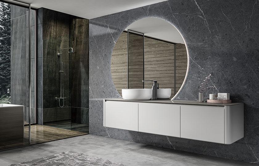 朵纳卫浴 Bova 博瓦 岩板浴室柜