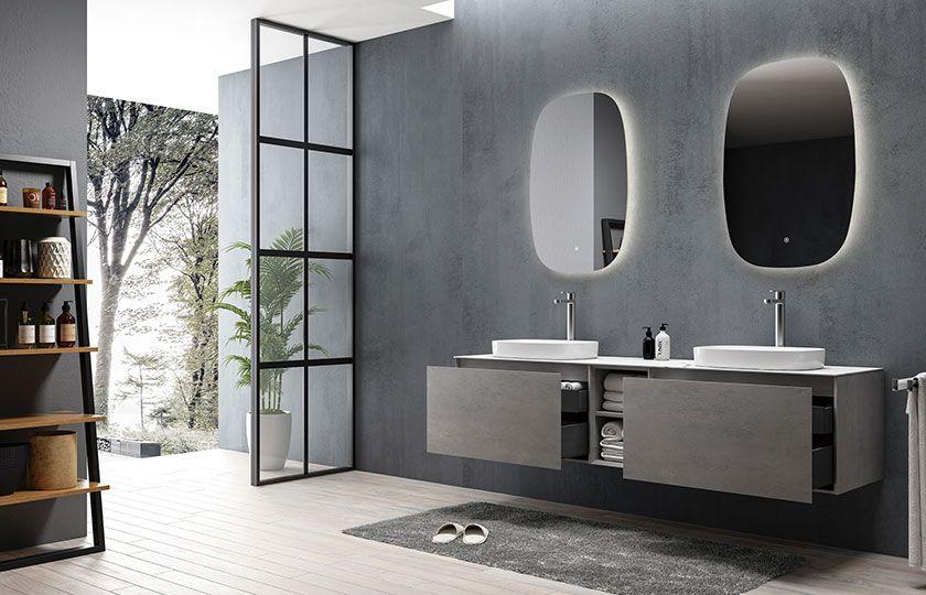朵纳卫浴 Inalco 英阿尔科 岩板浴室柜